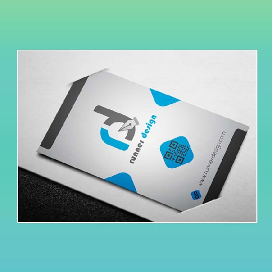 One Sided Business Card