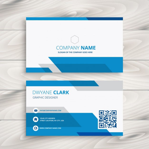 blue-and-white-corporate-business-card