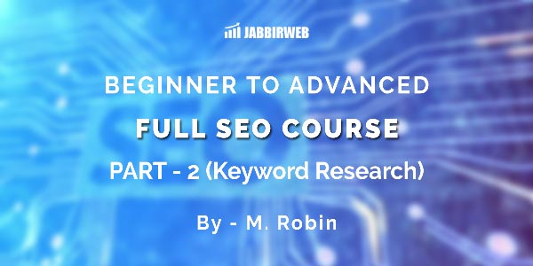 Free Seo Course Keyword Research